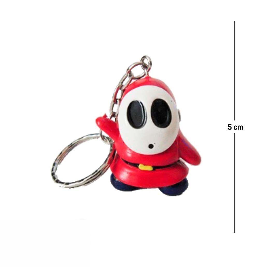 Chaveiro Mario Shy Guy 5CM PVC