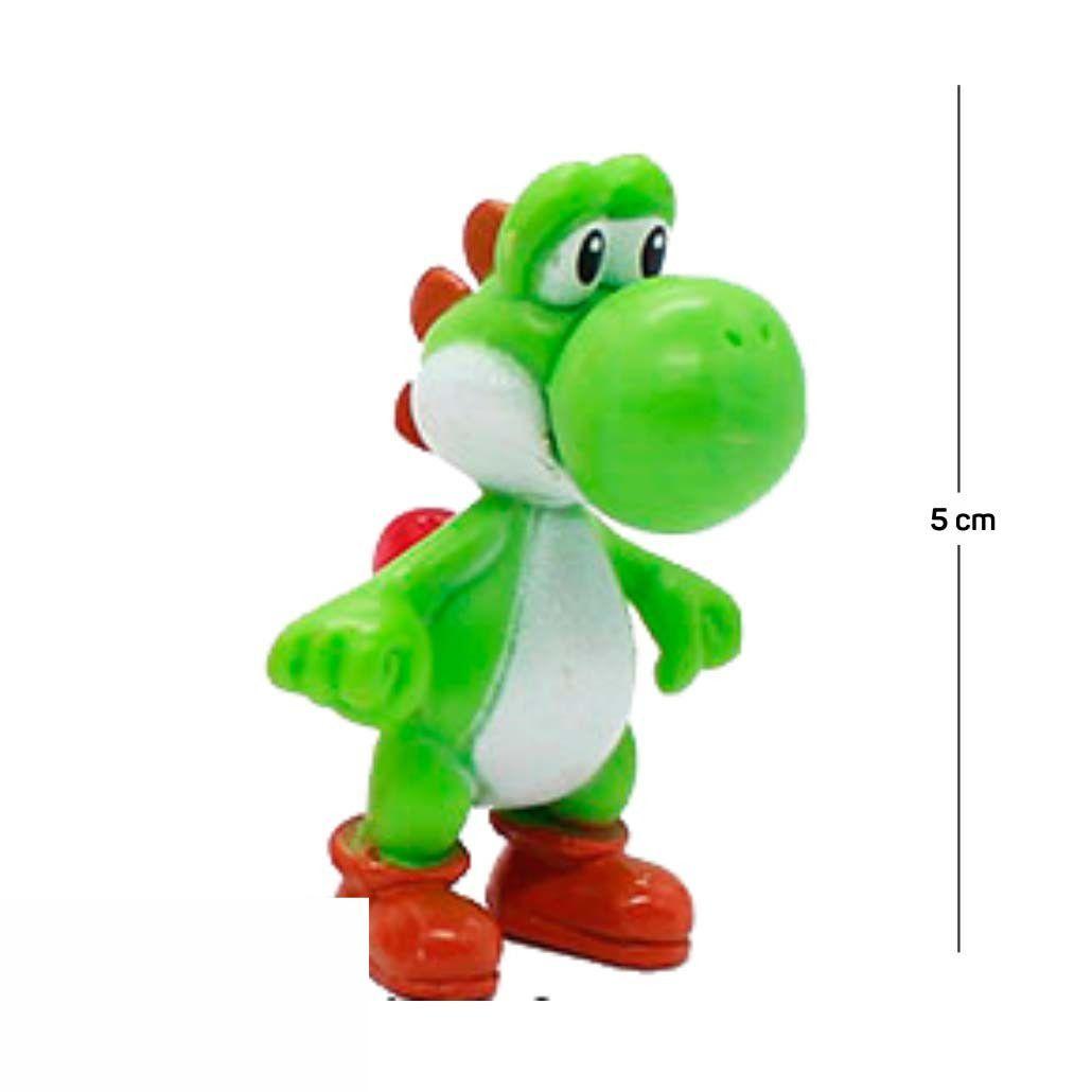 Chaveiro Mario Yoshi Modelo 1 5CM PVC