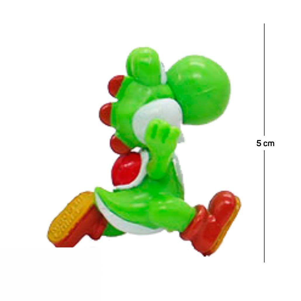 Chaveiro Mario Yoshi Modelo 2 5CM PVC