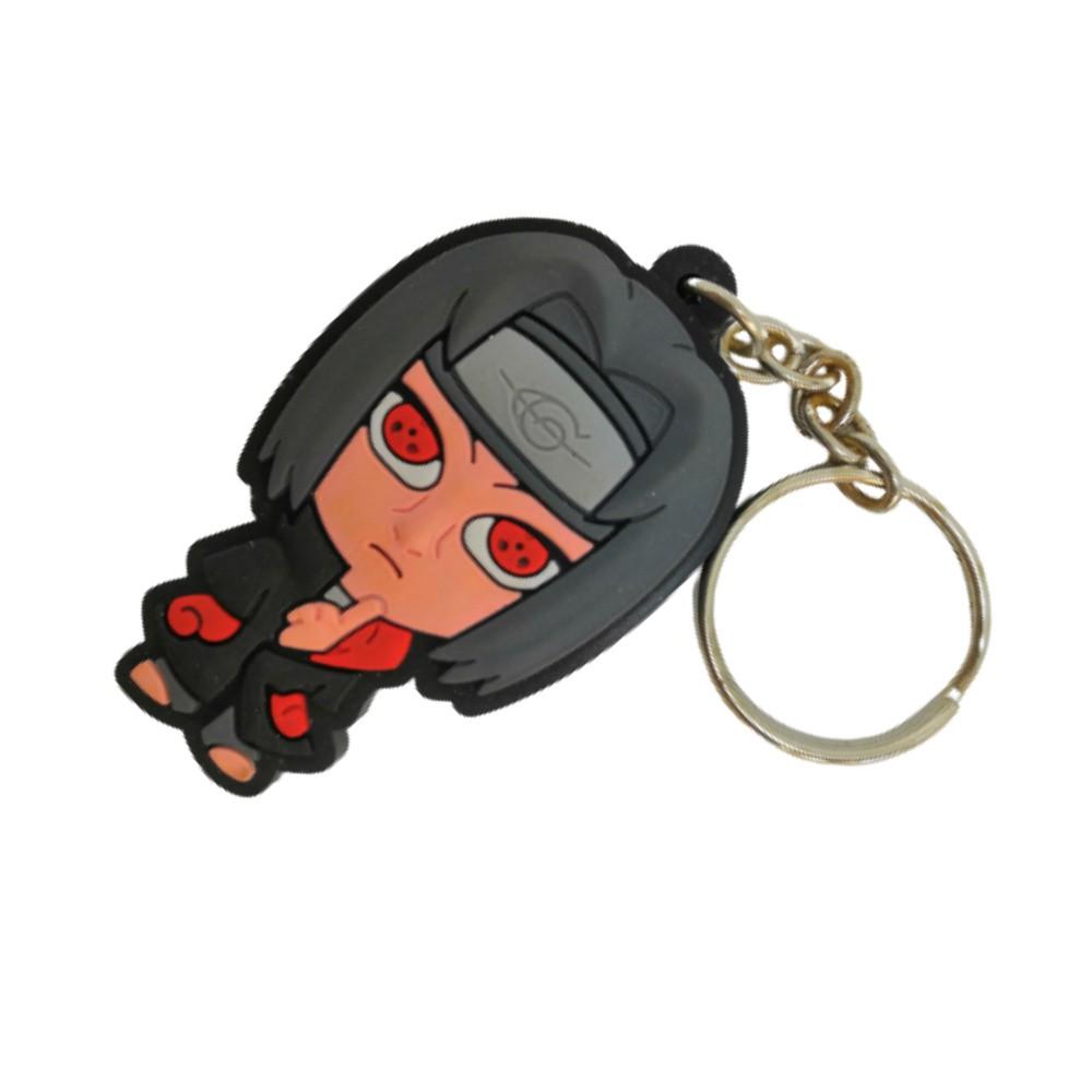 Chaveiro Emborrachado Itachi Uchiha - Naruto - 5CM