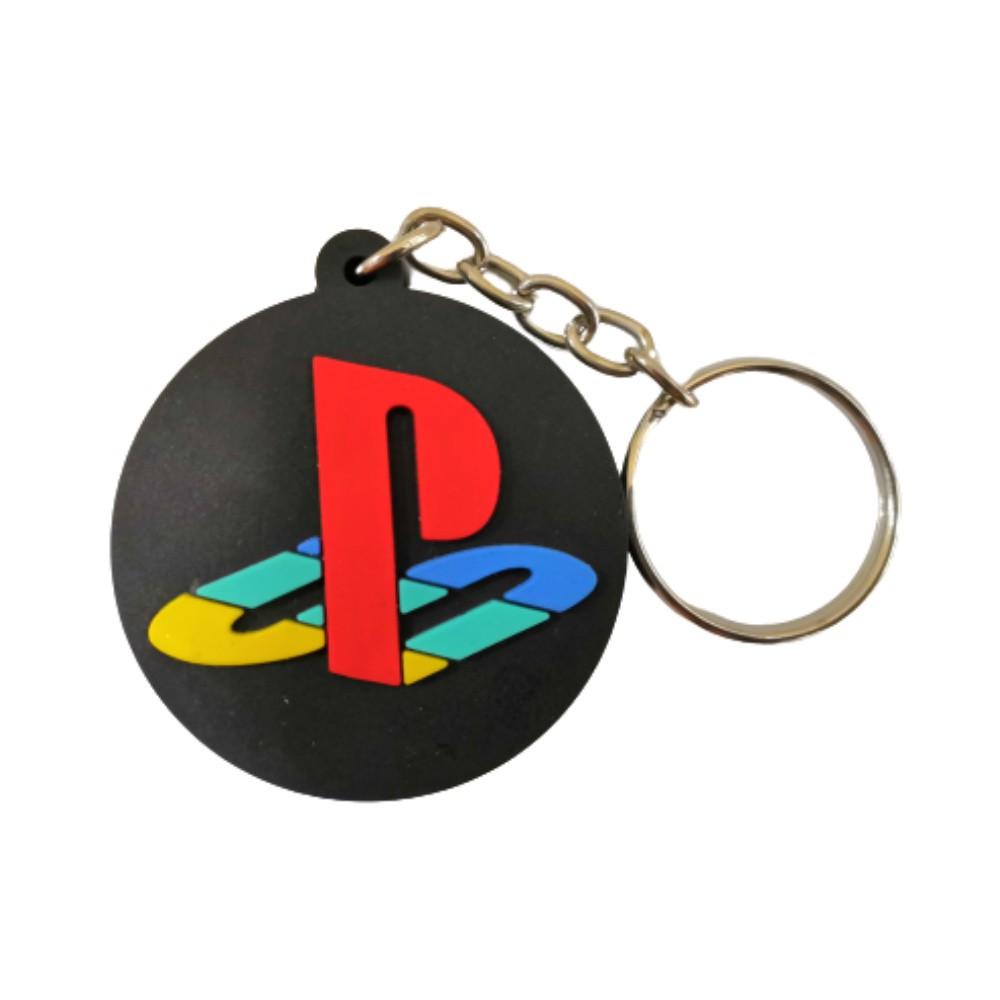 Chaveiro Emborrachado PlayStation - 5CM