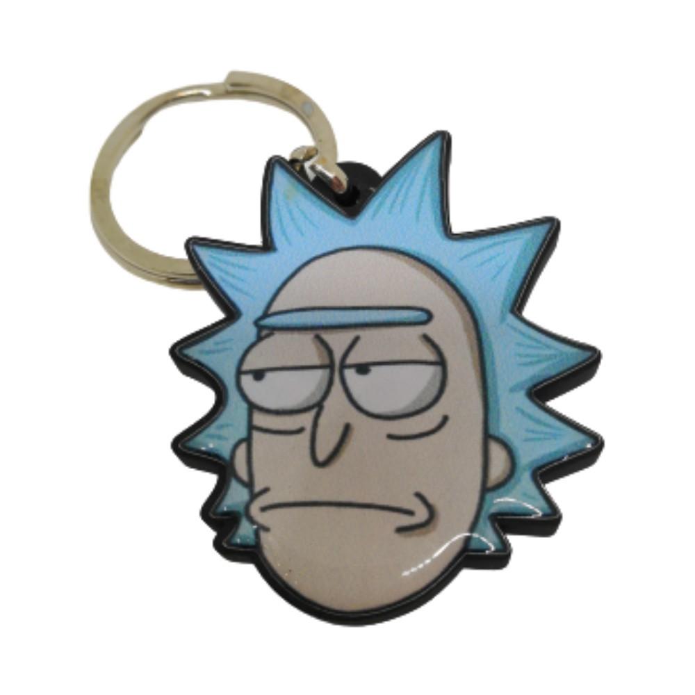 Chaveiro Resinado Rick - Rick and Morty - 5CM