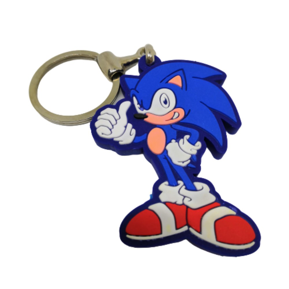 Chaveiro Resinado Sonic - 5CM