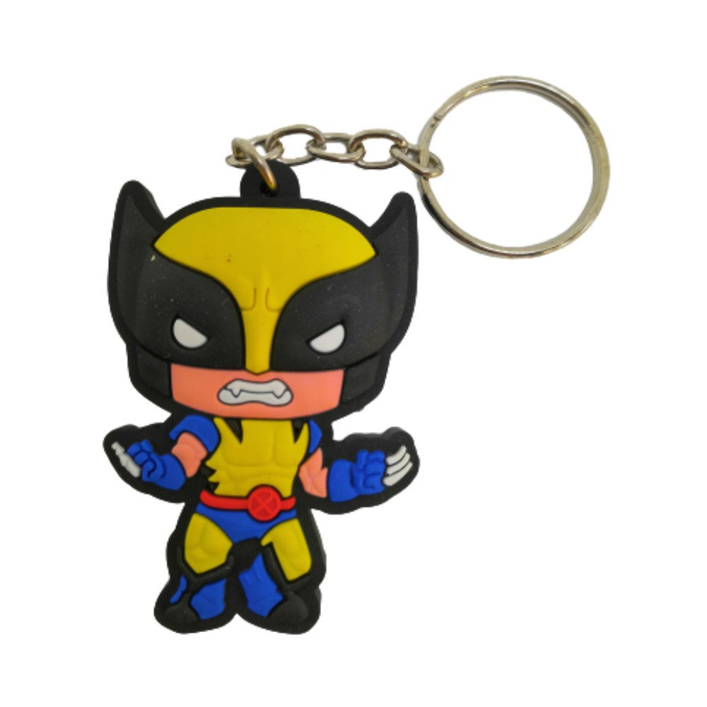 Chaveiro Emborrachado Wolverine - Marvel X-Men - 5CM