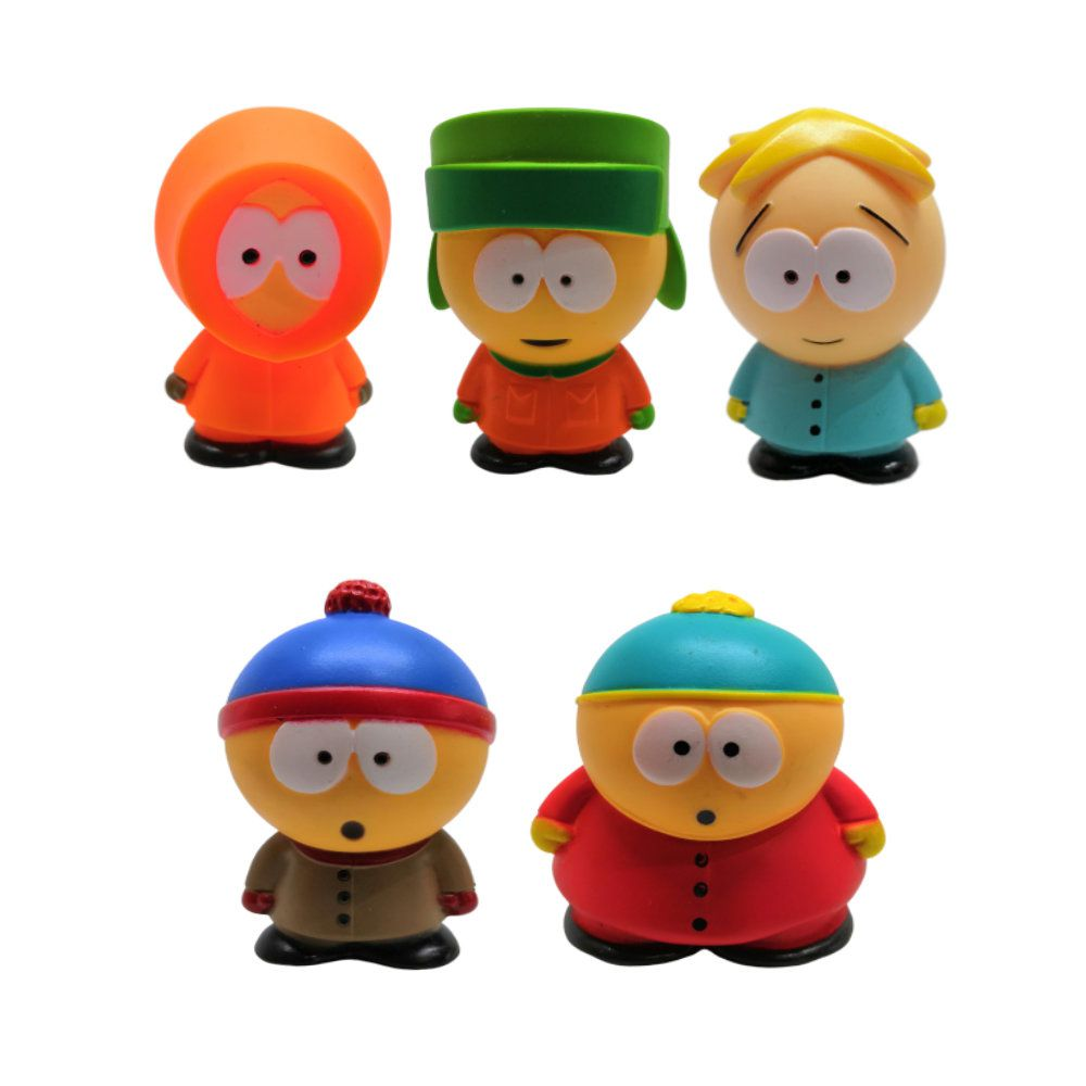Figure Conjunto South Park - 5CM