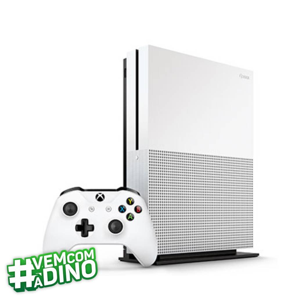 Console Microsoft Xbox One S 500GB - Branco