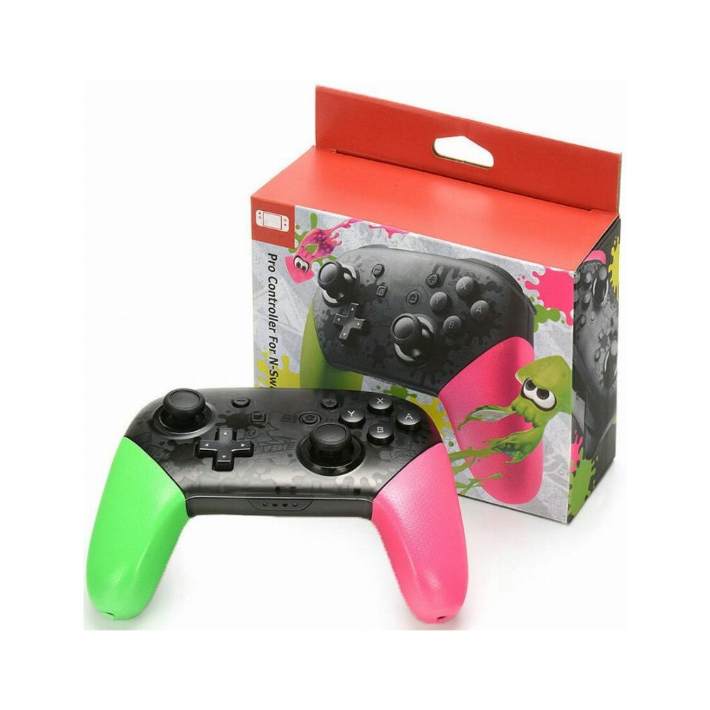 Controle Pro Controller For N-Switch Splatoon - Nintendo Switch