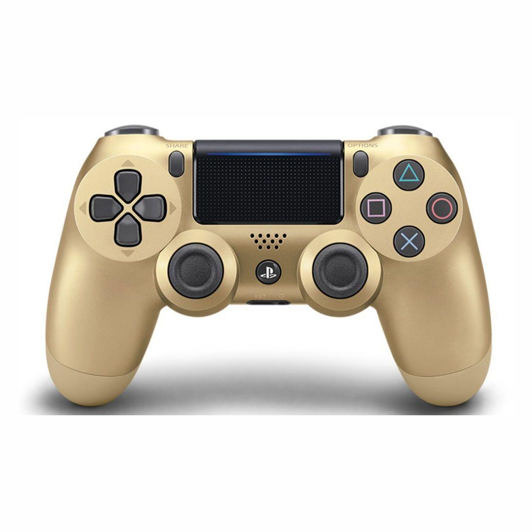 Controle Sony Dualshock 4 Dourado
