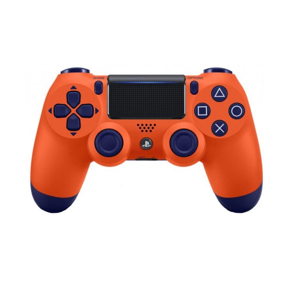 Controle Sony Dualshock 4 Orange Sunset Sem Fio
