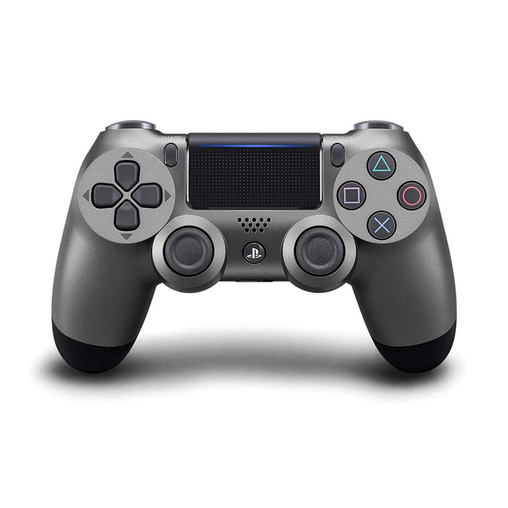 Controle Sony Dualshock 4 Steel Black Sem Fio