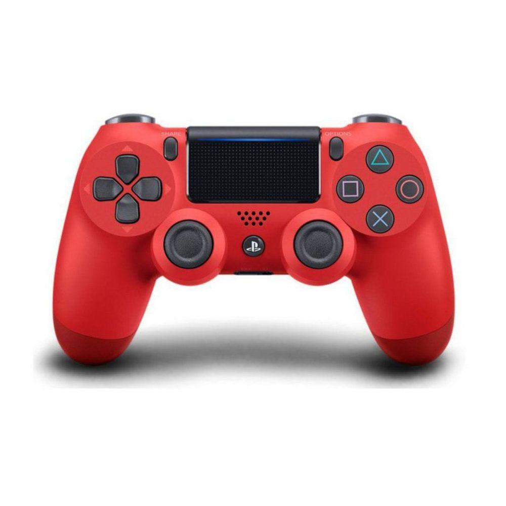 Controle Sony Dualshock 4 Vermelho Magma Sem Fio