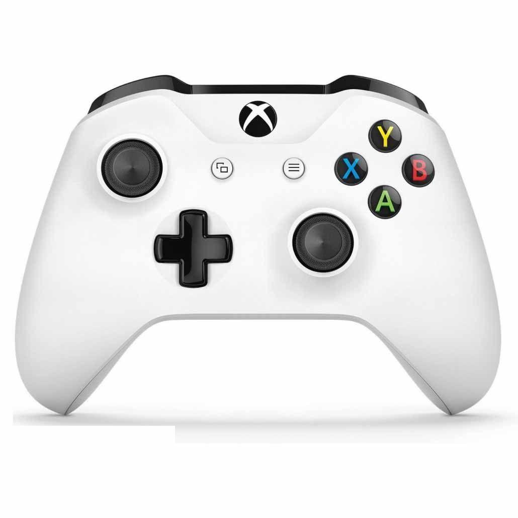 Controle Xbox One Microsoft Sem Fio Branco