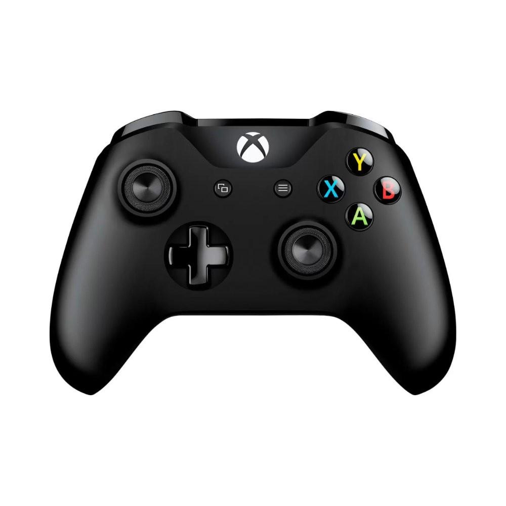Controle Xbox One Microsoft - Sem Fio Preto e Com P2