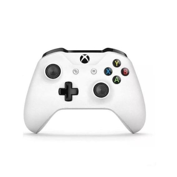 Controle Xbox One Microsoft - Sem Fio Branco E Com P2