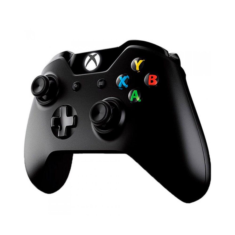 Controle Xbox One Microsoft - Sem Fio Preto E Sem P2