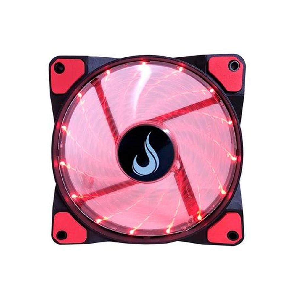 Cooler FAN Rise Mode Wind W1, 120mm, LED Vermelho - RM-WN-01-BR