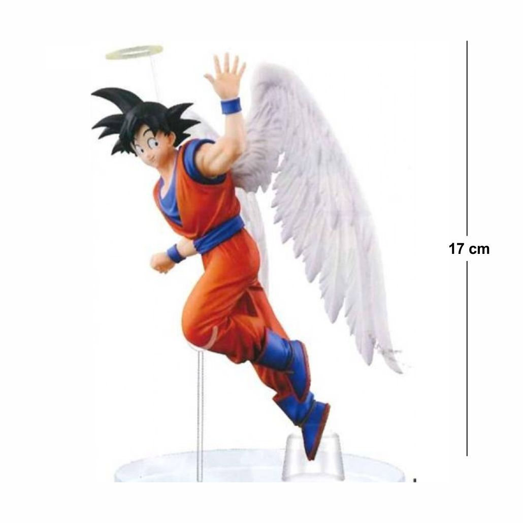 Action Figure DBZ Goku Anjo 17CM PVC