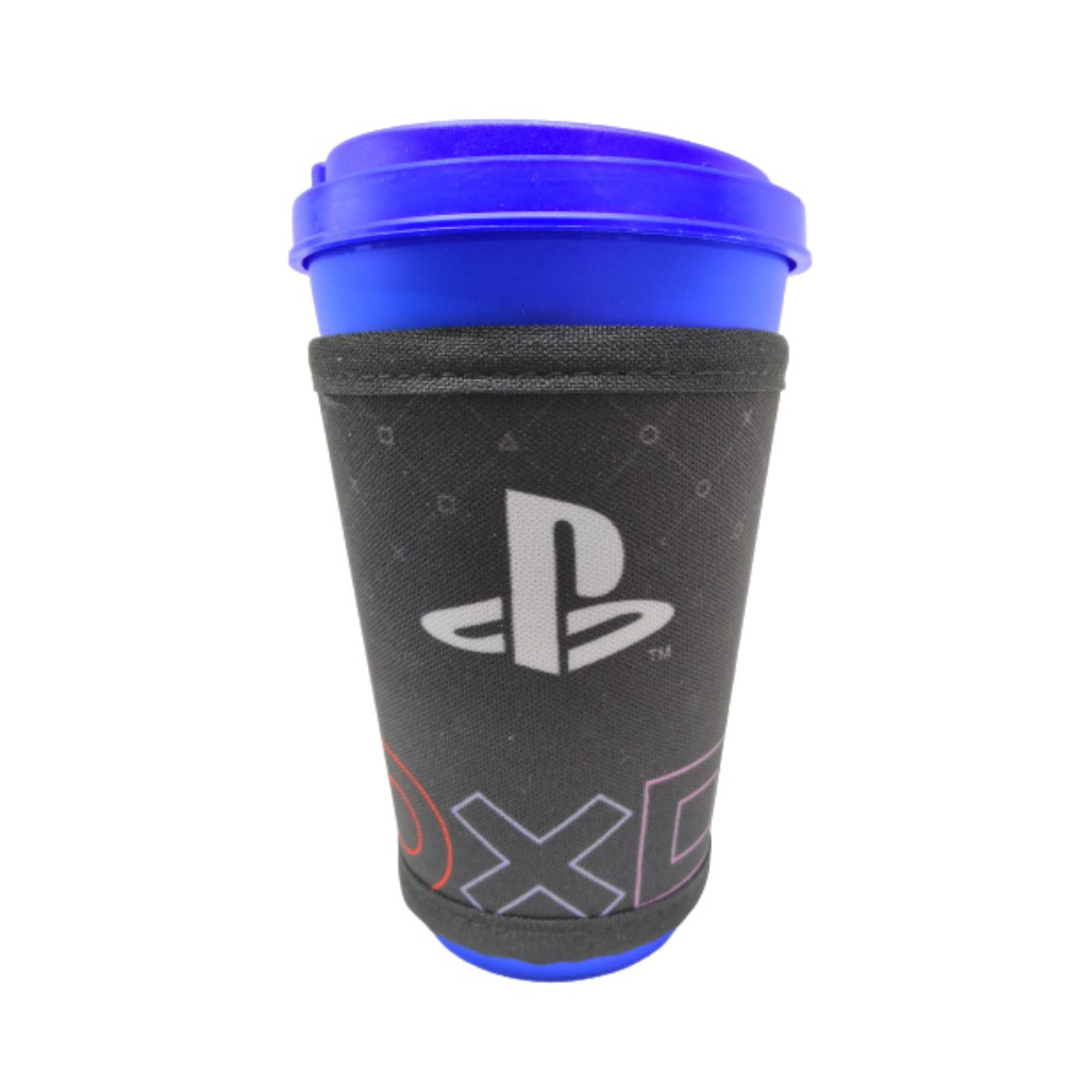 Copo Com Sinta PlayStation - Sony - 550ML