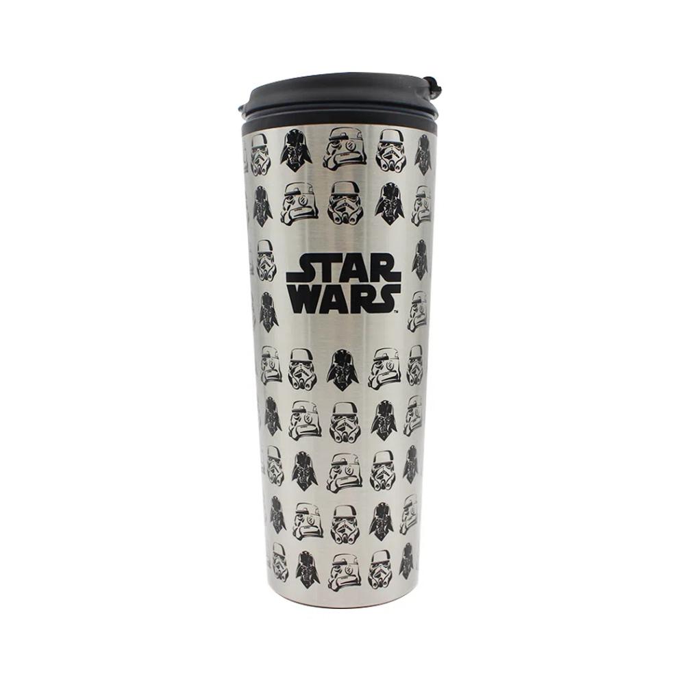 Copo Térmico Para Viagem Stormtropper e Vader - Star Wars - 450ML