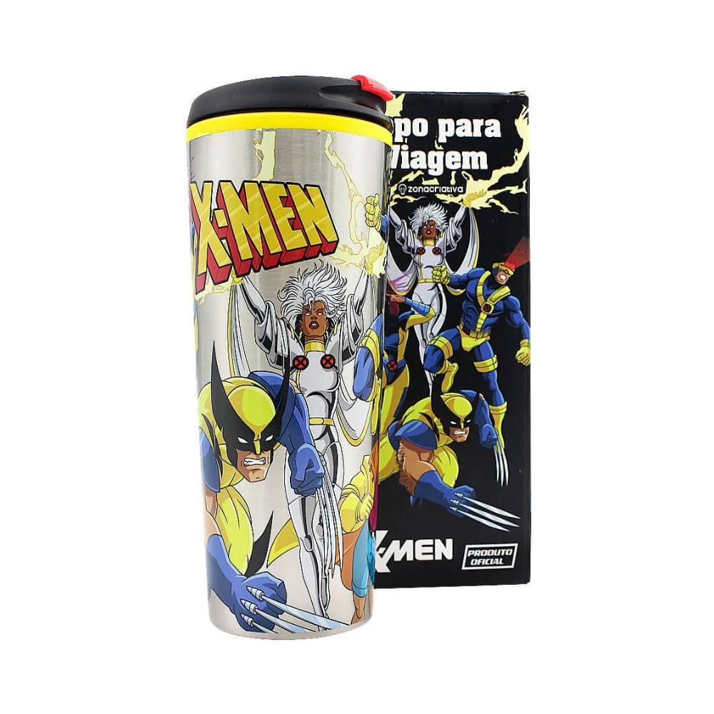 Copo Térmico Para Viagem X-Men - Marvel - 450ML