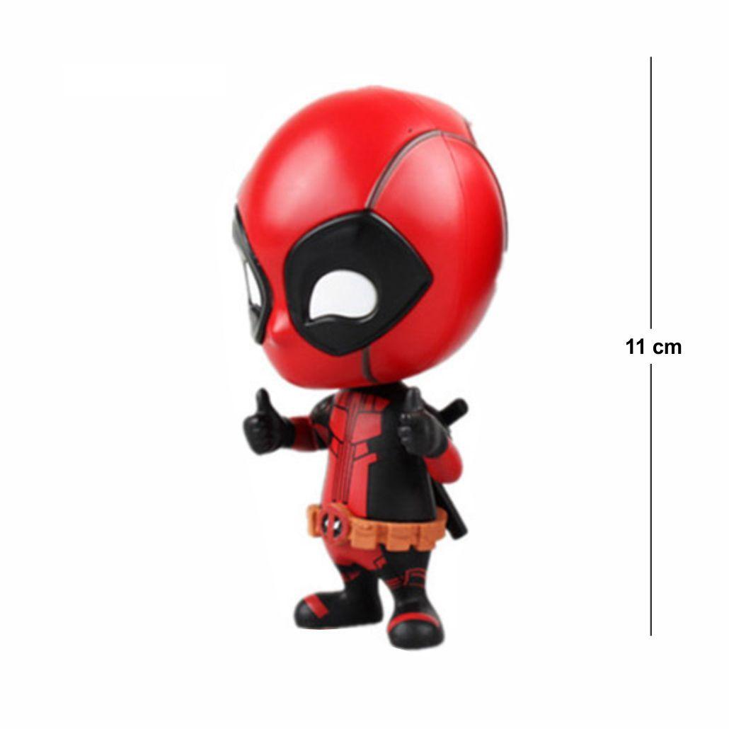 Deadpool Loose Head Modelo 2 11CM PVC