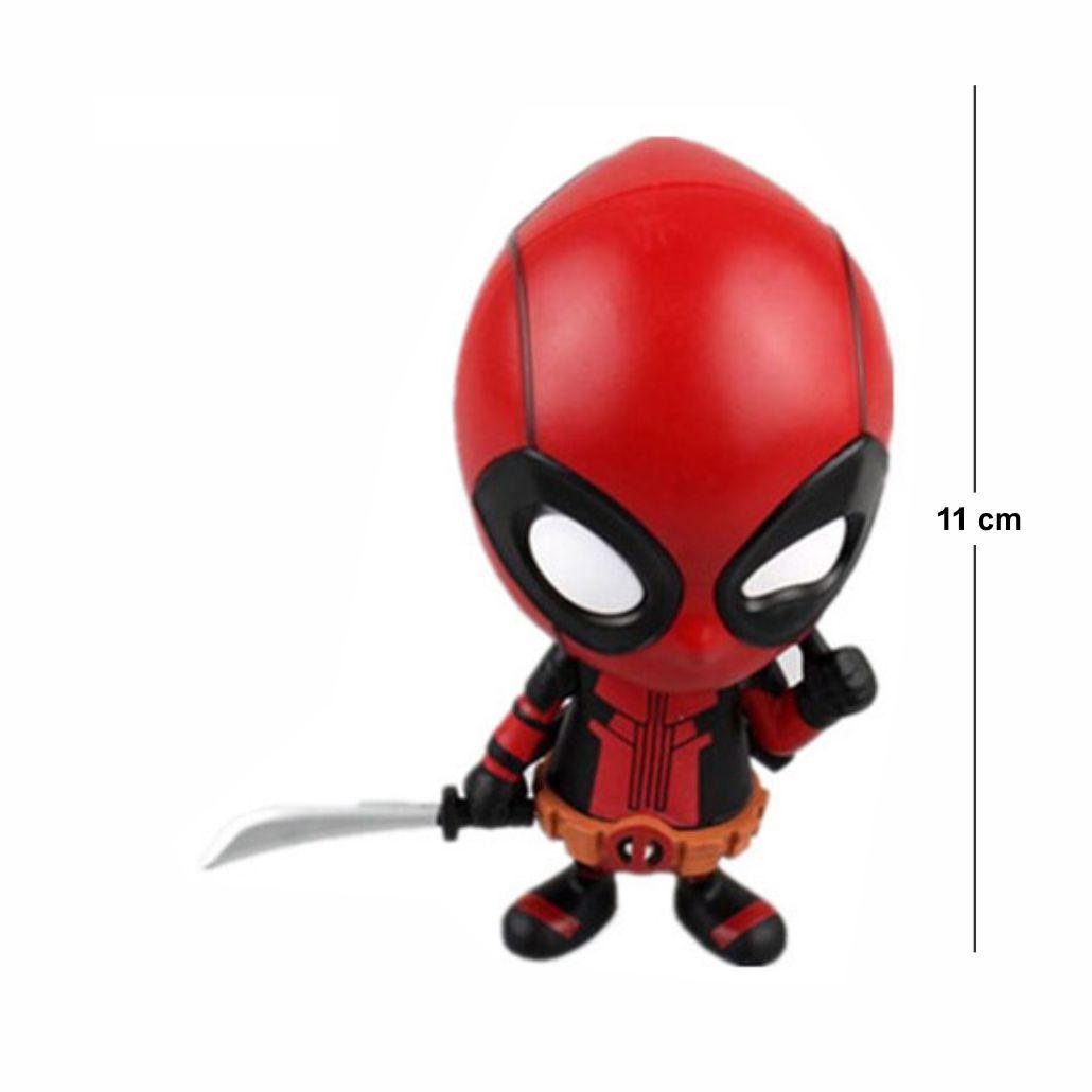 Deadpool Loose Head Modelo 3 11CM PVC