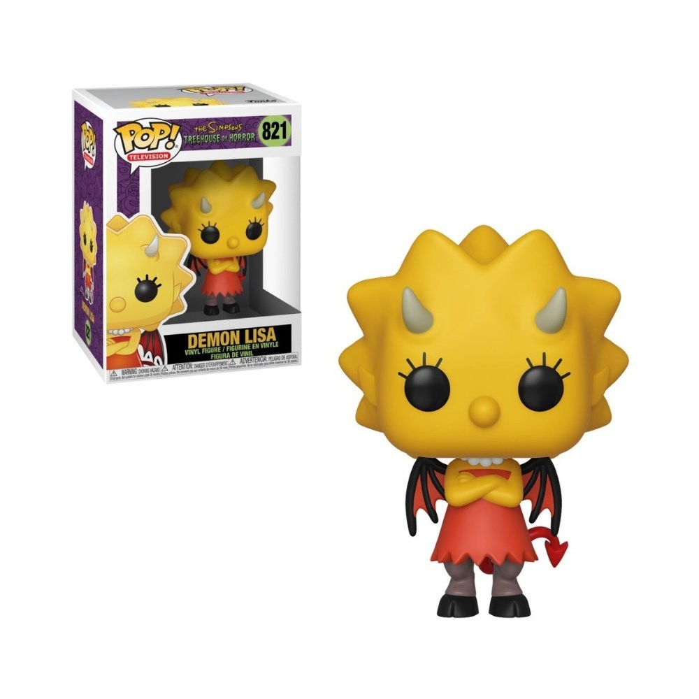 POP! Funko - Demon Lisa 821 - The Simpsons