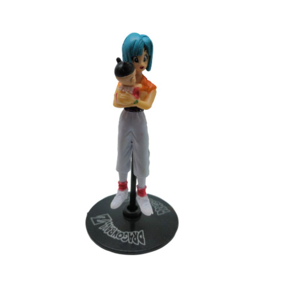 Figure Bulma - Dragon Ball Z DBZ - 9CM