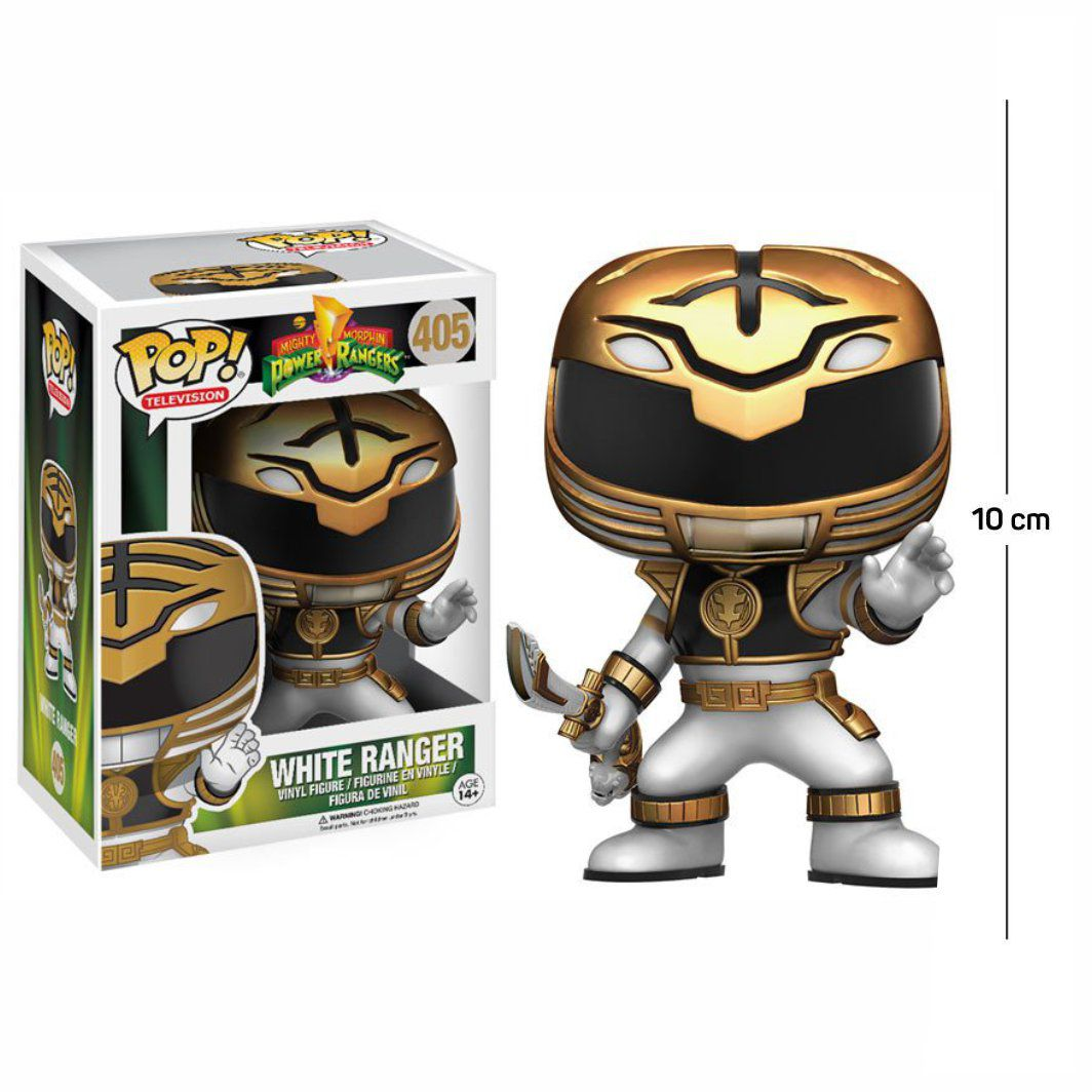 Funko Pop Power Rangers Ranger Branco