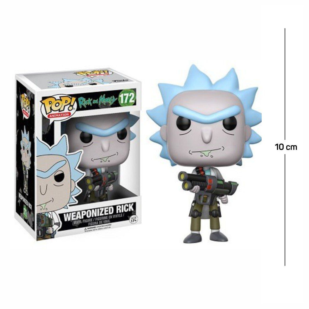 Funko Pop Rick and Morty Weaponized Rick