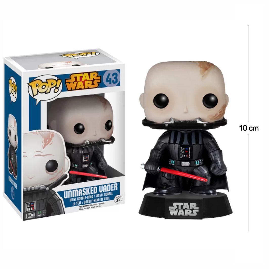 Funko Pop Star Wars Unmasked Vader