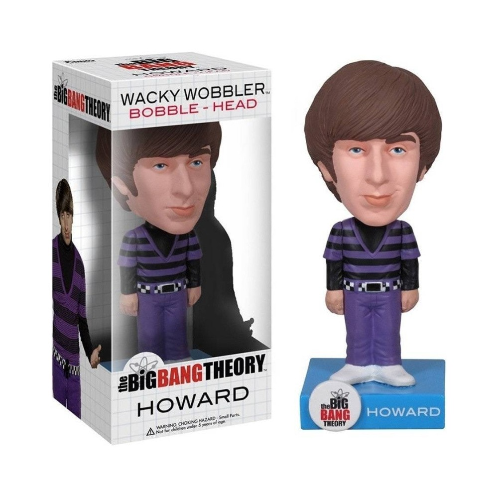 Funko Wacky Wobbler! Bobble-Head Howard - The Big Bang Theory