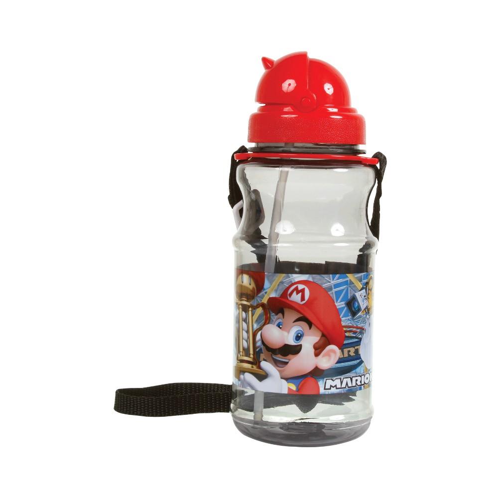 Garrafa Cantil Acrílico Mario Kart - Super Mario - 500ML