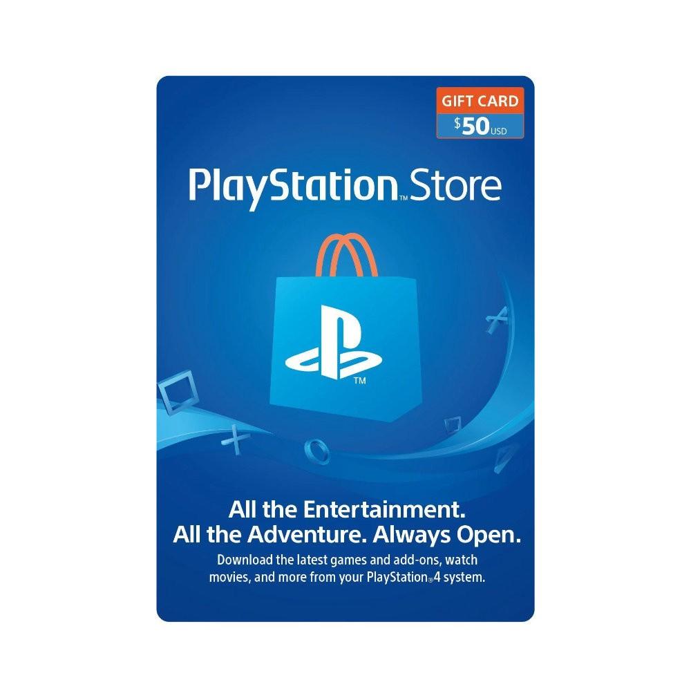 Gift Card PlayStation R$50