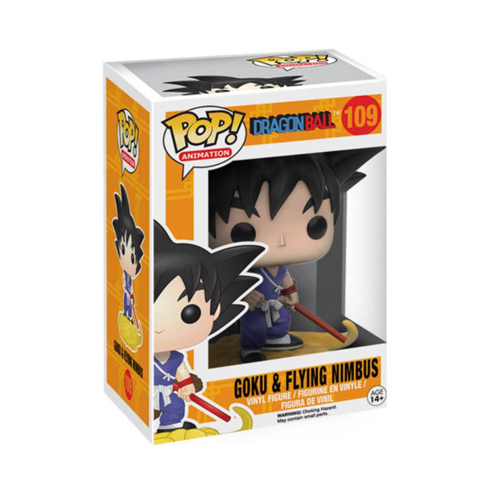 POP! Funko - Goku & Flying Nimbus 109 - Dragon Ball