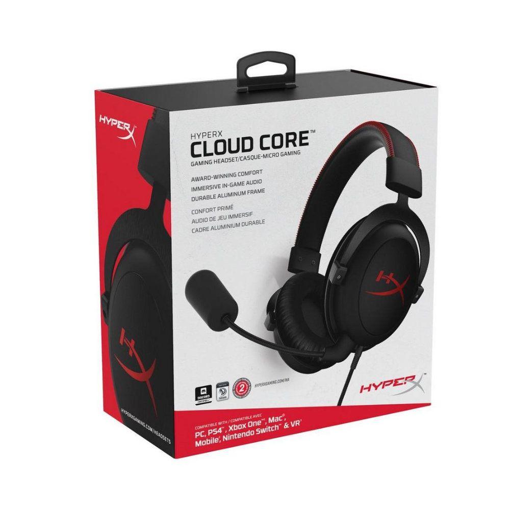 Headset HyperX Cloud Core Com Fio