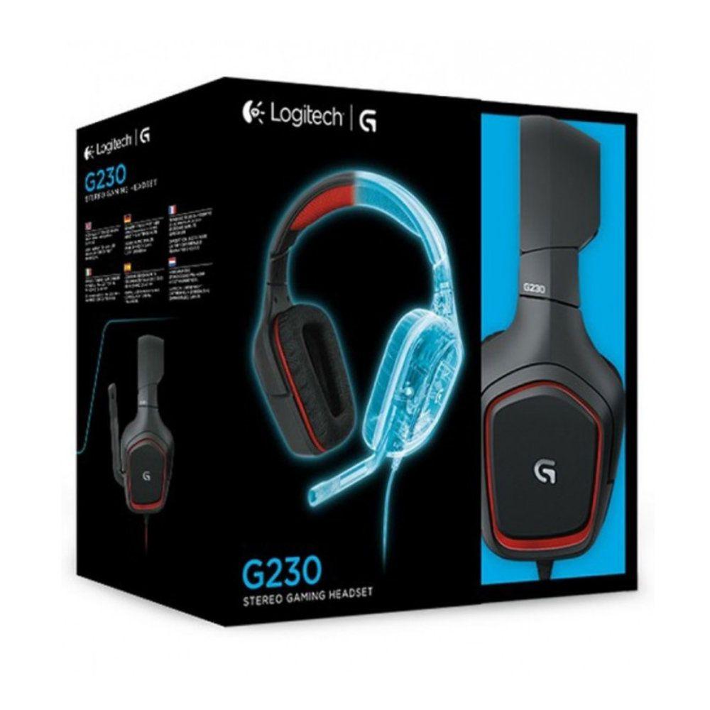 Headset Logitech G230 Com Fio