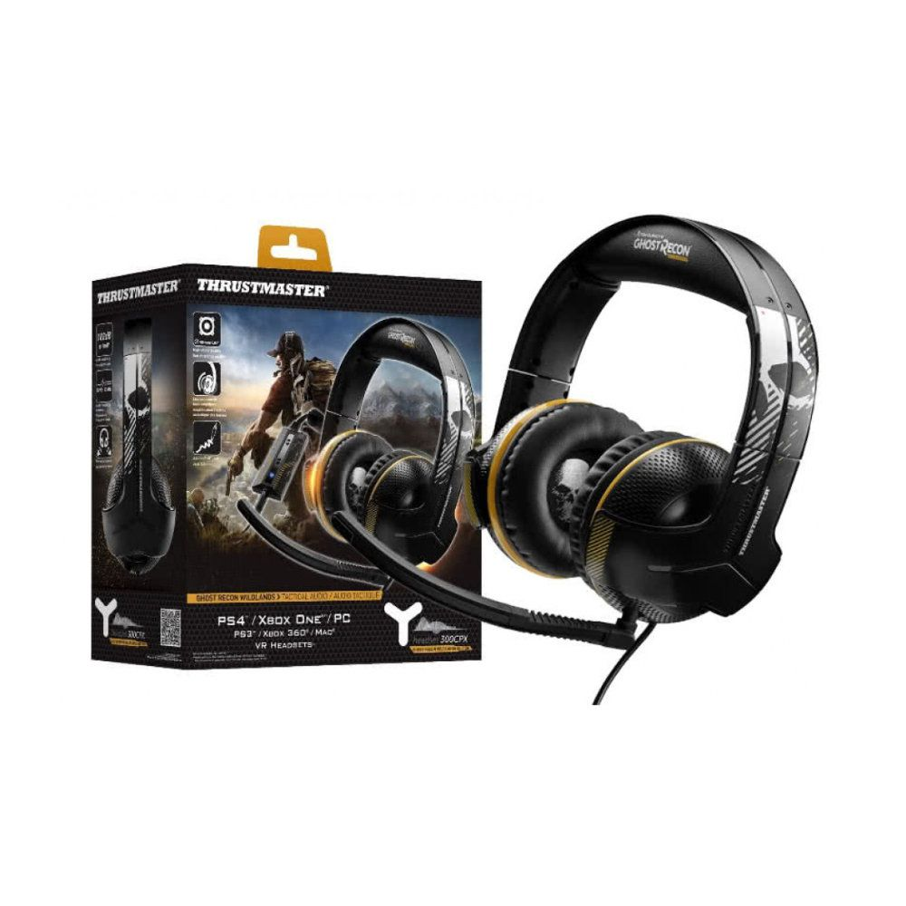 Headset Thrustmaster 300CPX Ghost Recon Com Fio