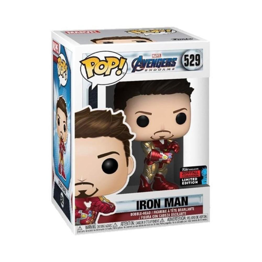 POP! Funko - Homem de Ferro Com A Manopla 529 - Vingadores: Ultimato