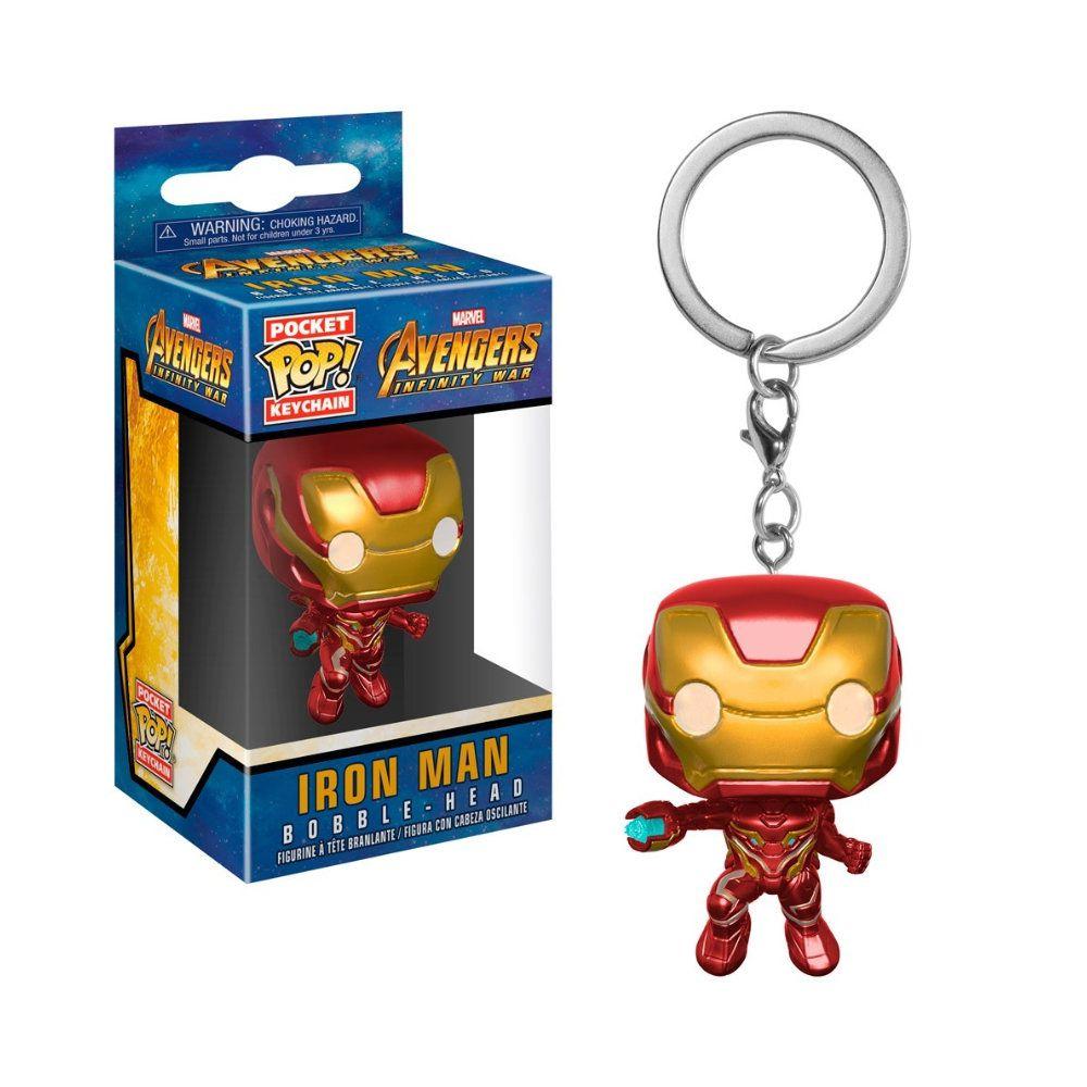 Pocket POP! Chaveiro - Iron Man - Avengers: Infinity War