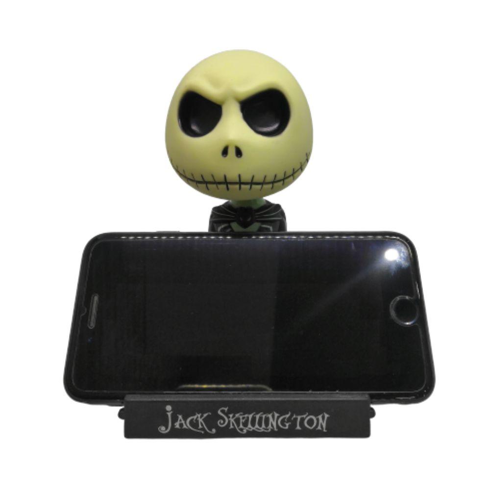 Figure Bobble Head Jack Skellington - O Estranho Mundo de Jack - 11CM