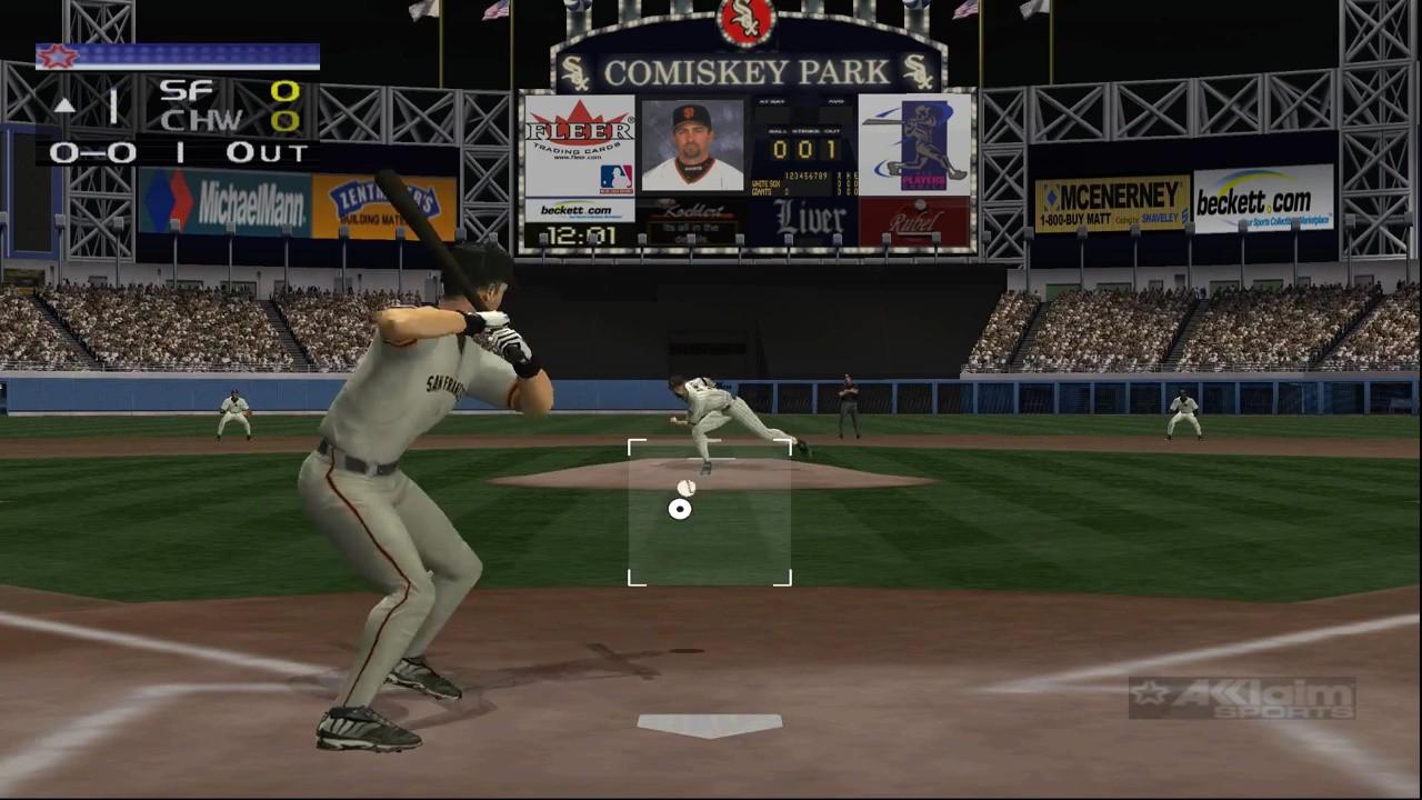 Jogo All-Star Baseball 2003 - Xbox Clássico