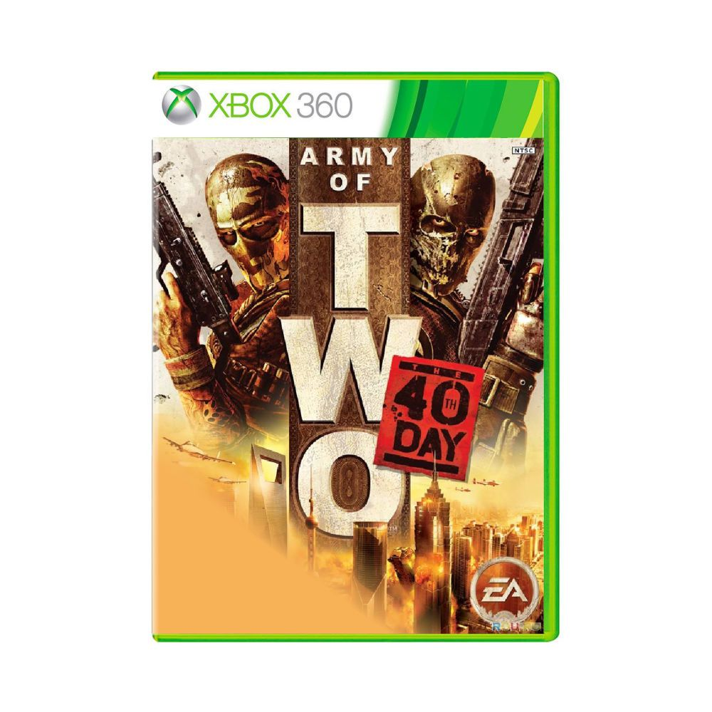 Jogo Army of Two the 40th Day - Xbox 360