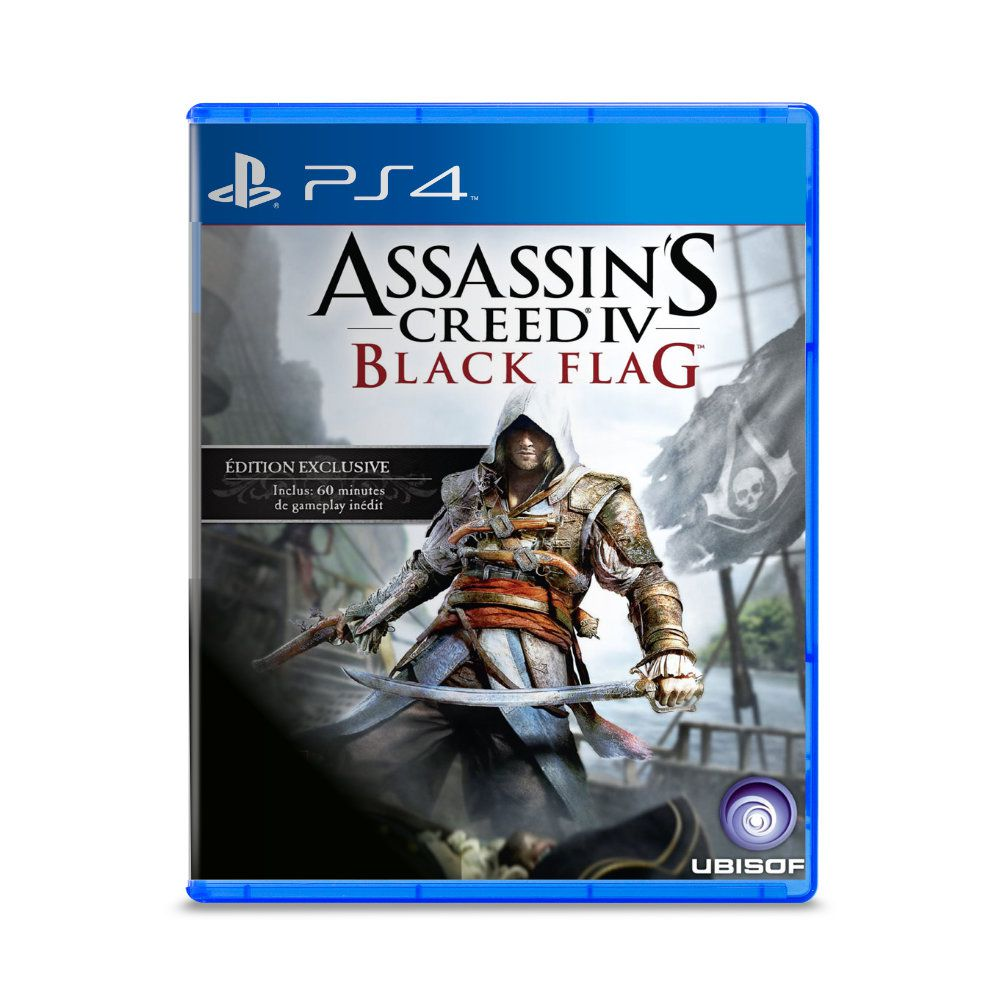 Jogo Assassin's Creed Black Flag - PS4