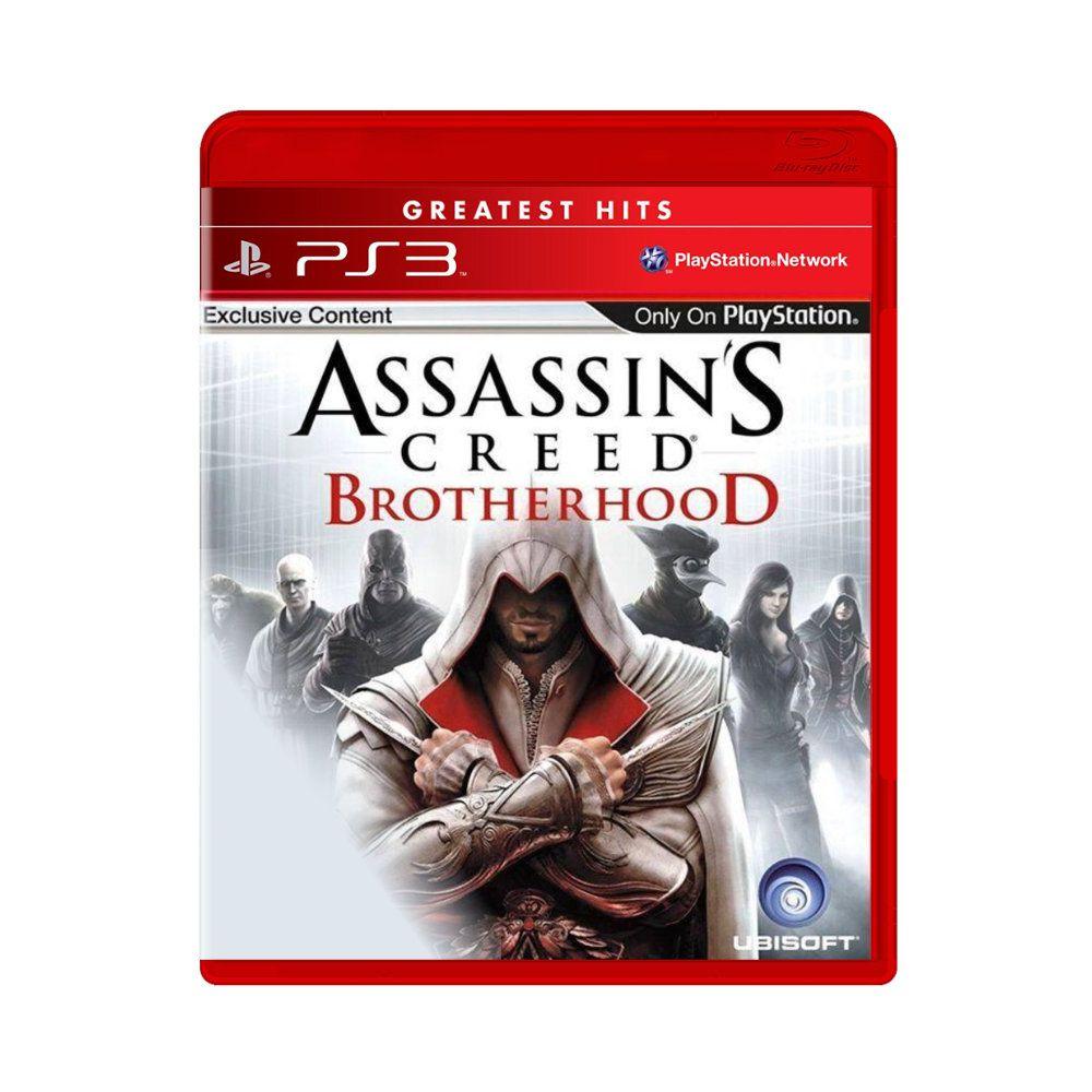 Jogo Assassin's Creed Brotherhood Greatest Hits - PS3