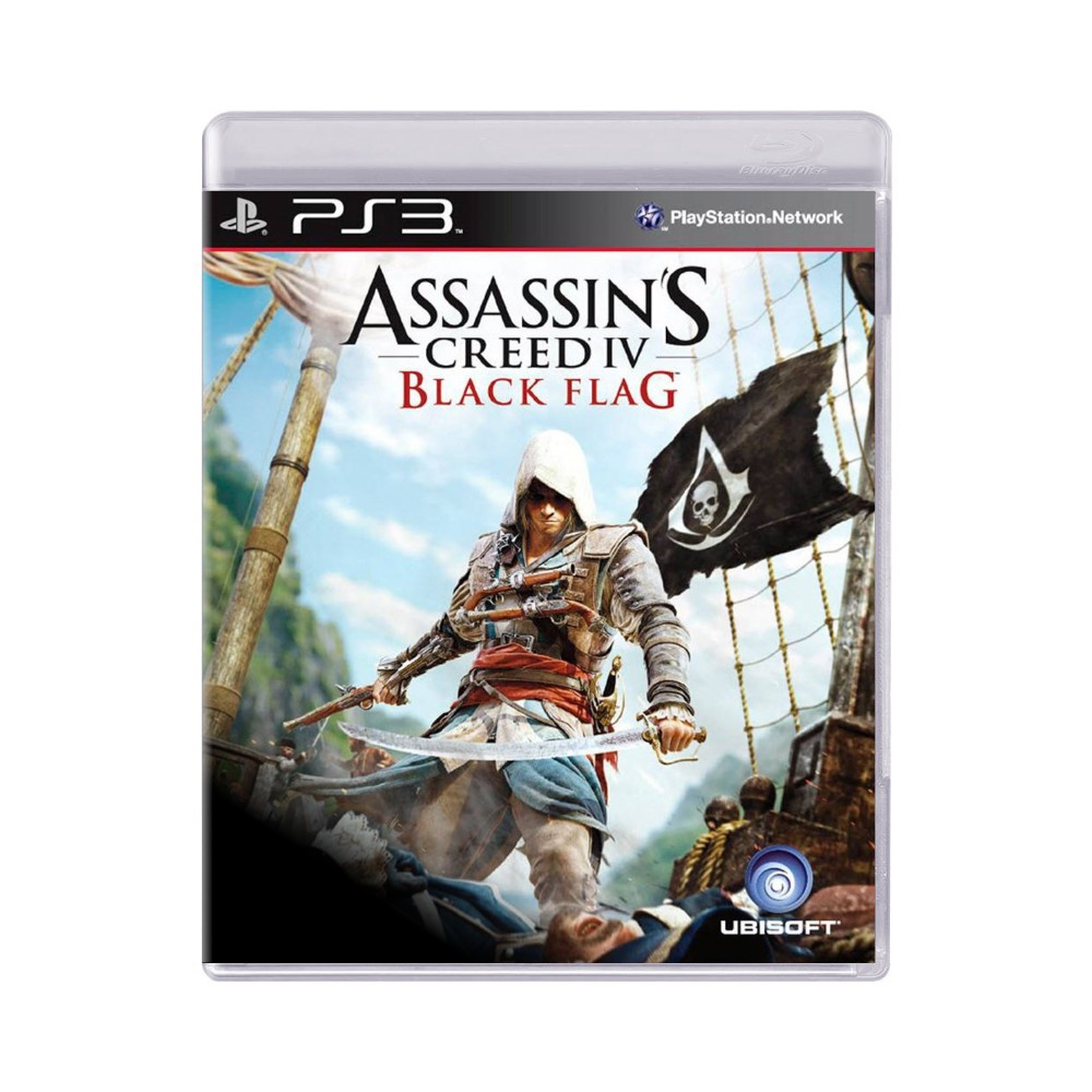 Jogo Assassin's Creed IV Black Flag - PS3