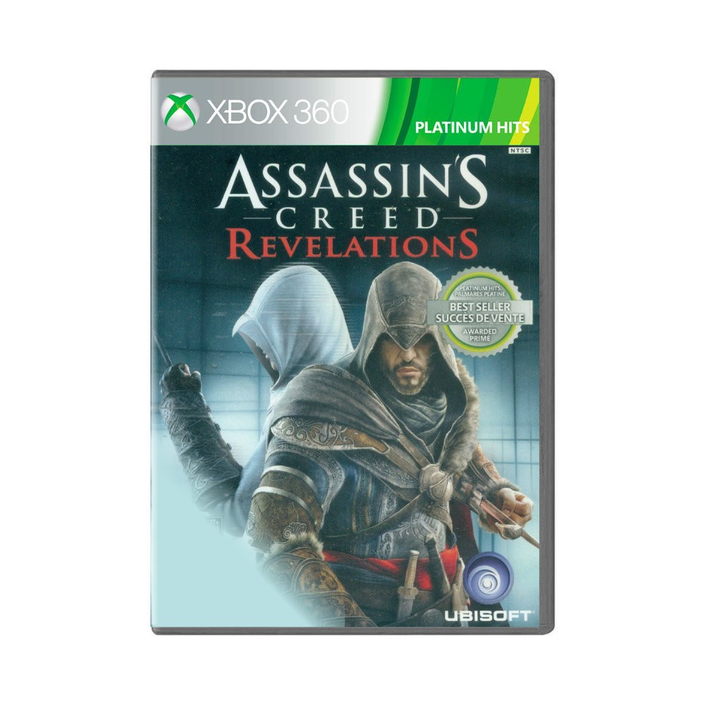 Jogo Assassin's Creed Revelations Platinum Hits - Xbox 360