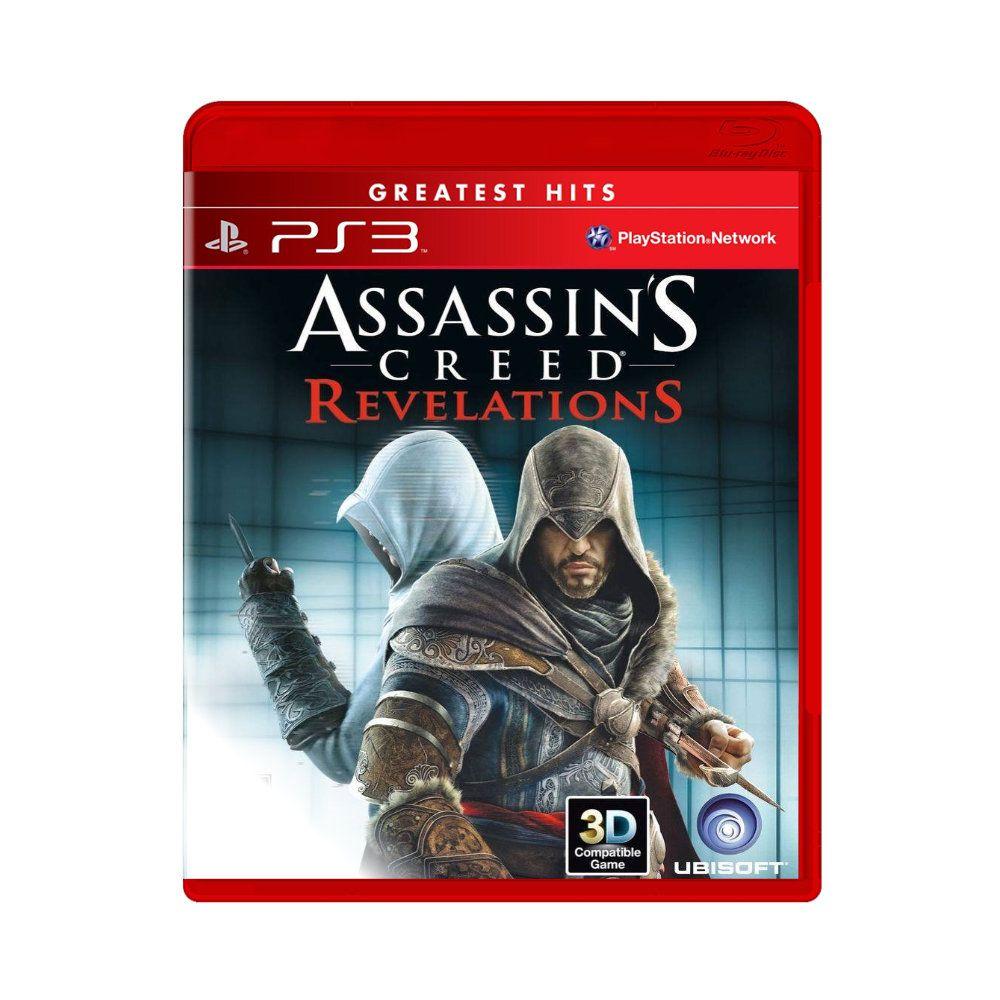 Jogo Assassin's Creed Revelations Greatest Hits - PS3