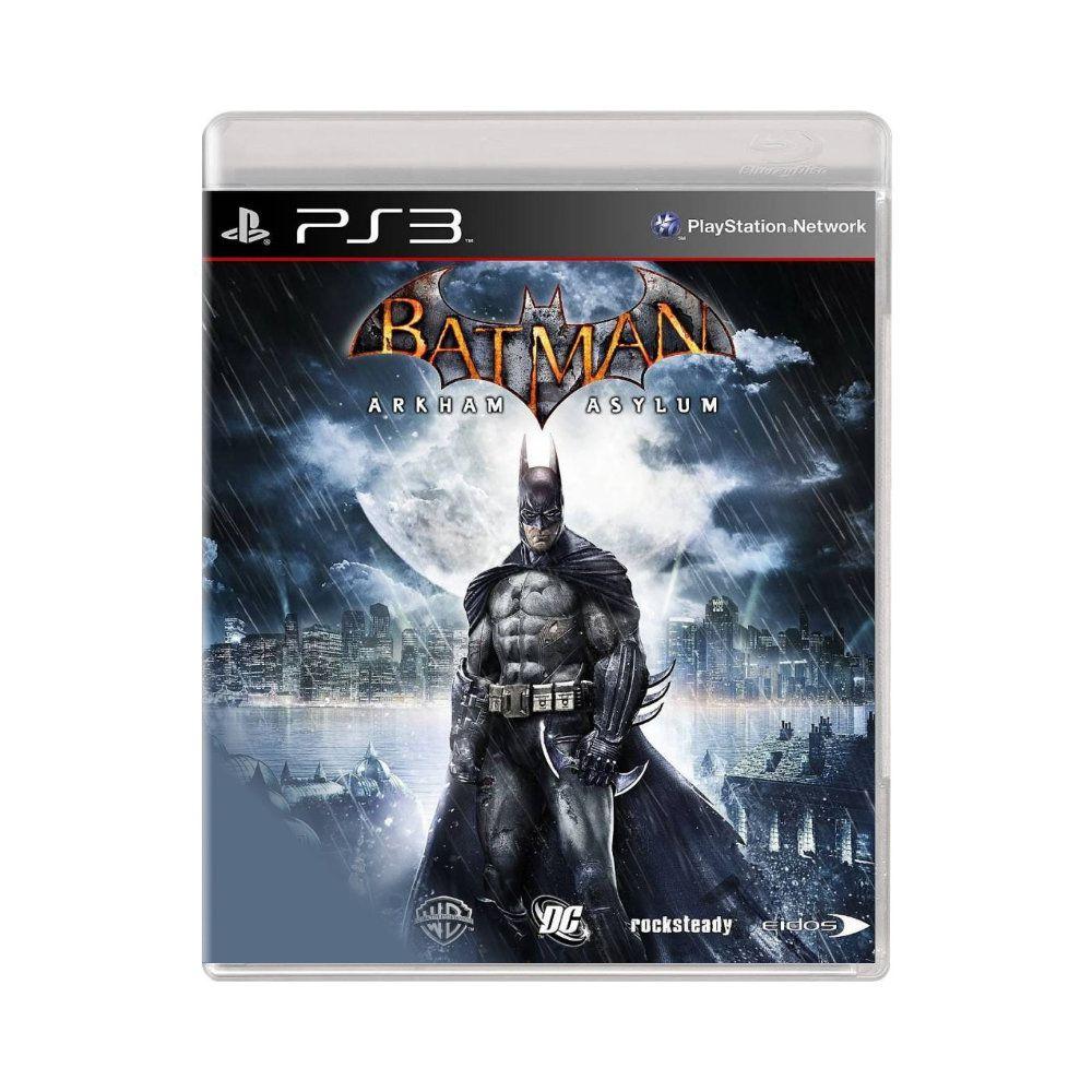 Jogo Batman Arkham Asylum - PS3