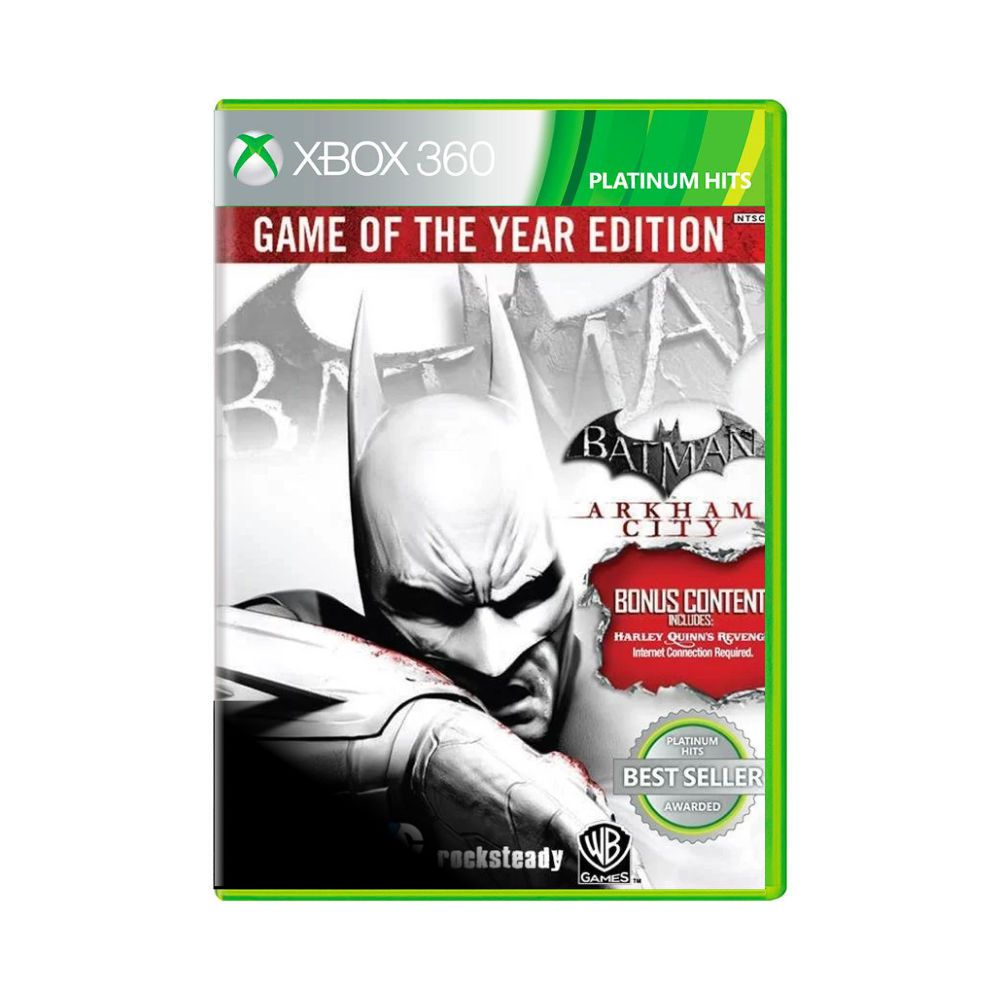 Jogo Batman Arkham City - Game of The Year Edition - Xbox 360